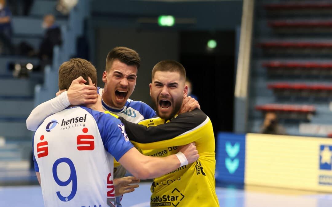 TV Großwallstadt beschert Aufstiegskandidat VfL Gummersbach erste Heimniederlage in der 2. Bundesliga