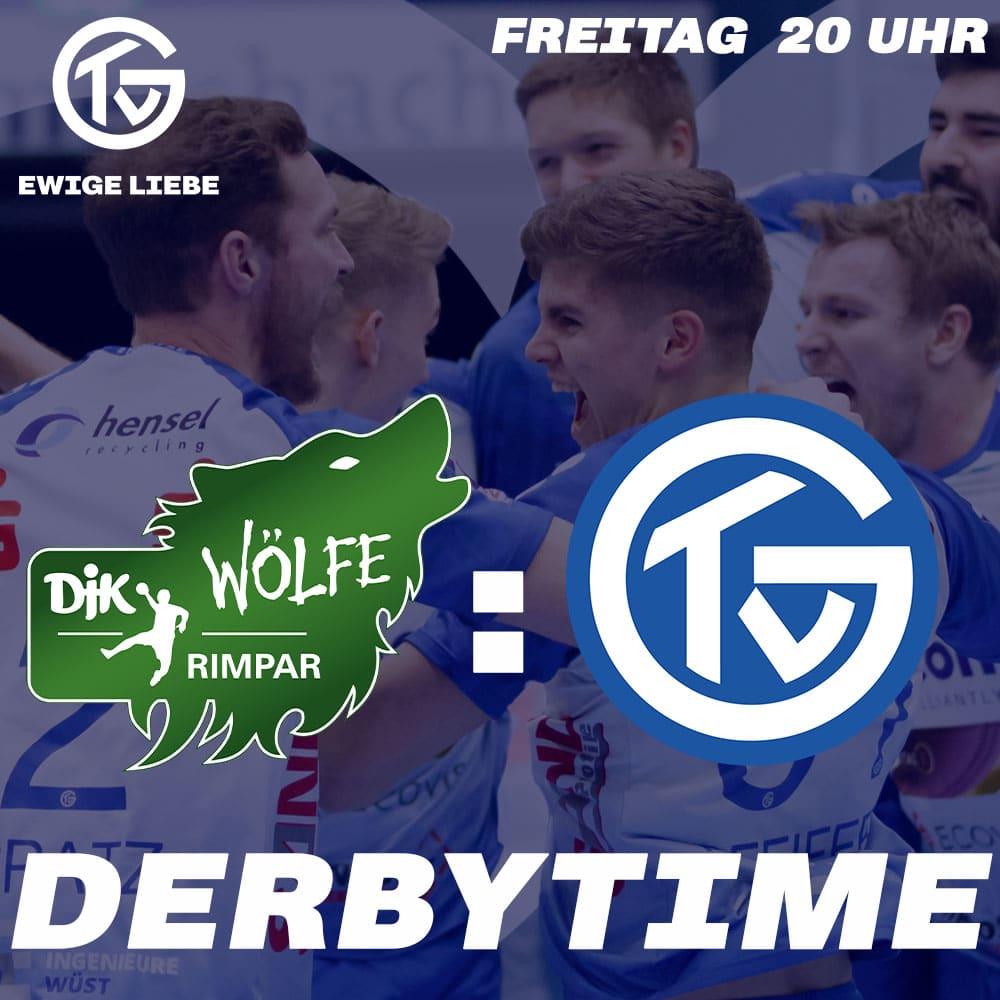 Derbytime in Würzburg