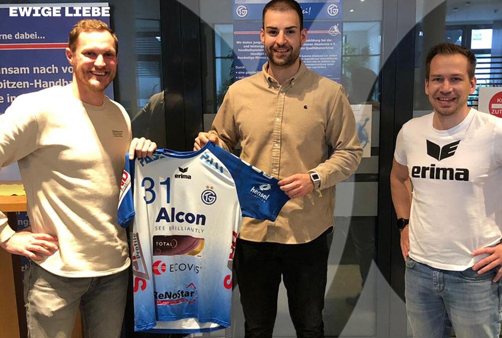 Thomas Rink wechselt zu Beginn der Saison 2021/22 vom TuS Ferndorf zum TV Großwallstadt