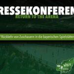 Gemeinsame Pressekonferenz der Handballbundesliga – Zweitligisten DJK Rimpar Wölfe und TV Großwallstadt GmbH